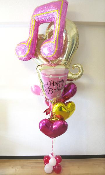 誕生日のお祝い♪お洒落でキラキラ可愛いバルーンギフト